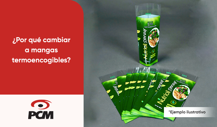 cambia a mangas termoencogibles