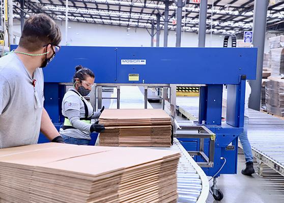 Fábrica de cajas