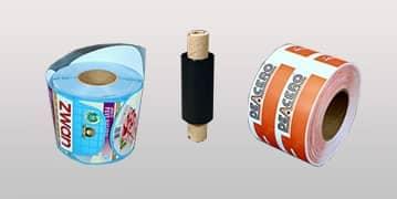 Etiquetas, ribbons e impresoras